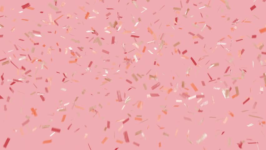 Party vibes! Trendy, glam, modern looking, and loopable. Multi-color ticker tape style confetti over background. See portfolio for similar and much more! #30190192