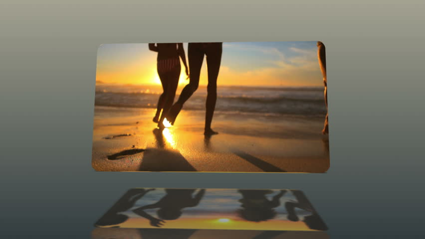 Animation with females in bikini dancing on the beach | Shutterstock HD Video #3019852
