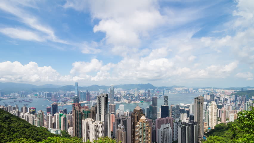 Hong Kong cityscape | Shutterstock HD Video #30206932