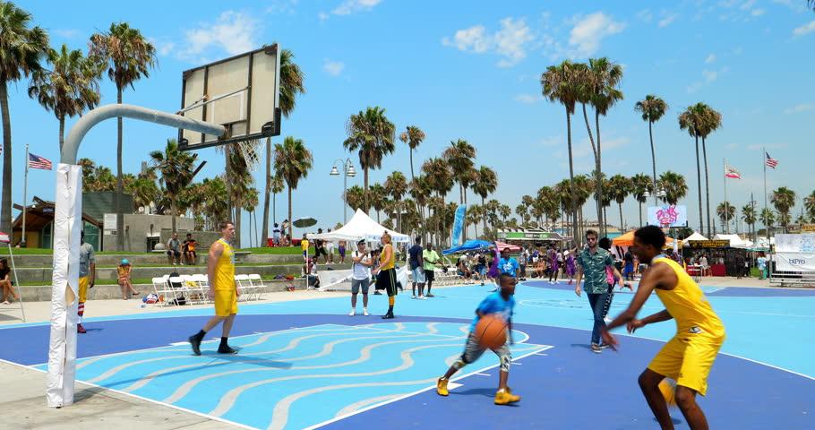 California Usa July 16 2017 Basketball Team Players Pare