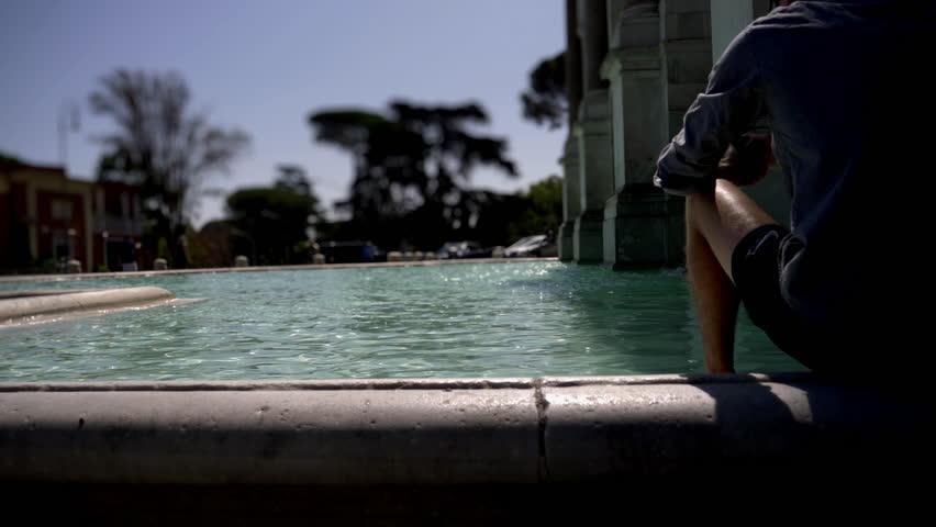 Monument Fontana Gianicolo