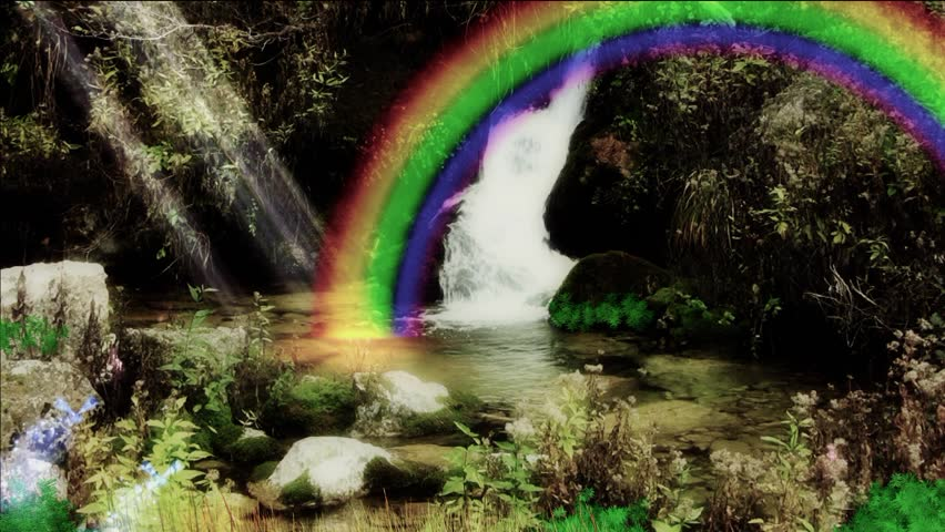 Enchanted rainbow.