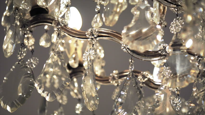 Crystal chandelier luxury crystals of a classic chandelier close up chandelier luxury on crystals and gold close up hd stock video clip aloadofball Gallery