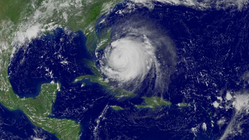 Hurricane Irma is an active, powerful, but weakening tropical cyclone | Shutterstock HD Video #30589582