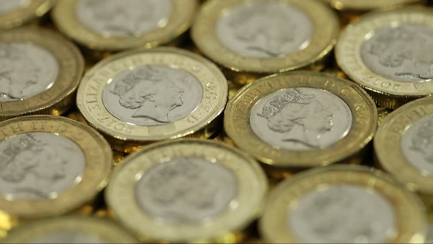 Slow Tracking Above British Pound Coins