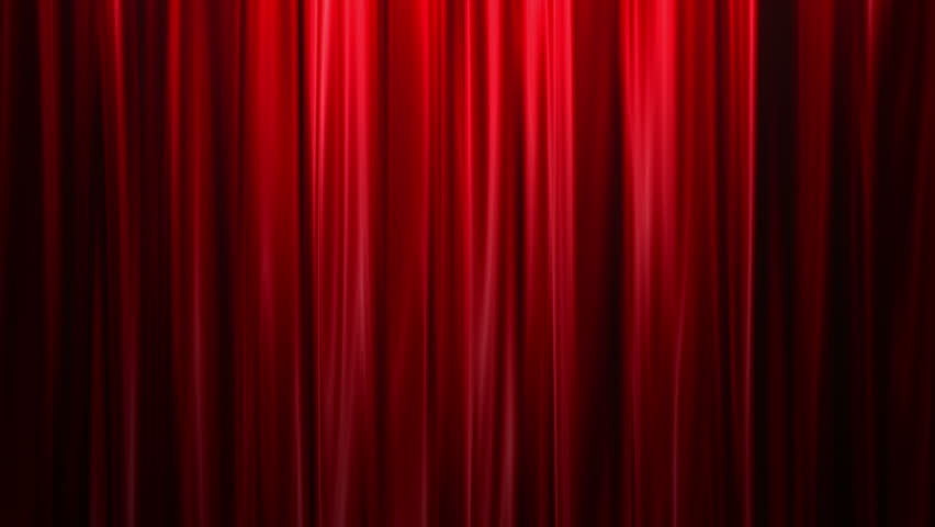 Red Curtains open, white background  | Shutterstock HD Video #3079492