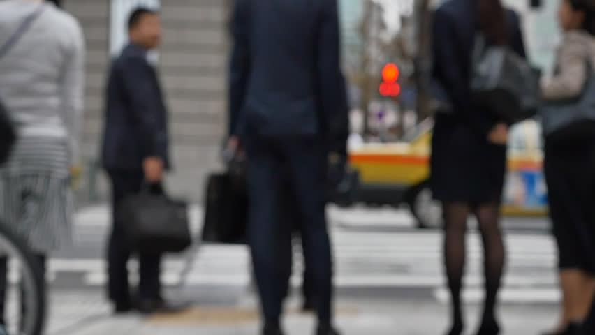 The Japanese businessman, no face   Shutterstock HD Video #30818902