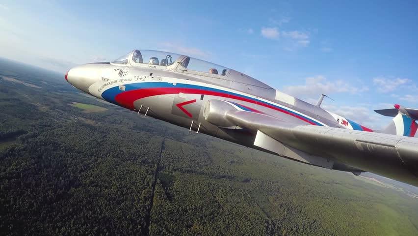 Picture Of Yakovlev Yak 130 Mitten Advanced Jet Trainer Light Strike Aircraft
