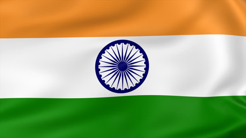 For Indian Flag Hd Animation: 3d Animation Flag Of India Looping Stock Footage Video