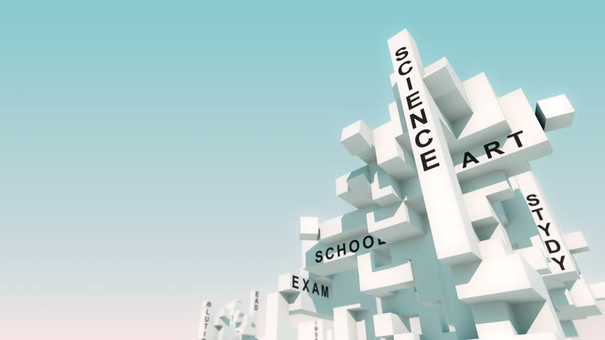 Training words animated with cubes   Shutterstock HD Video #31018672