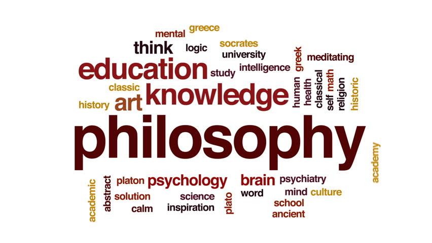 Header of philosophy