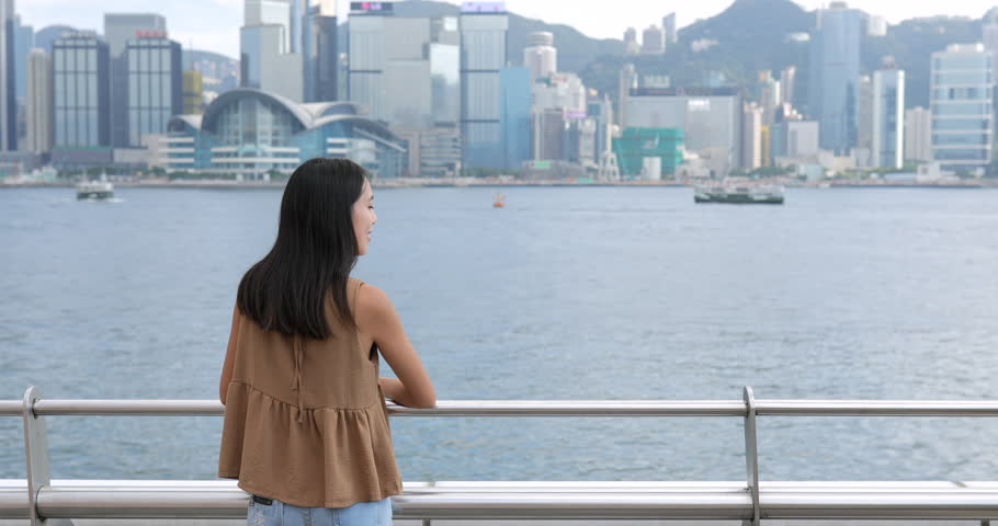 Woman travel in Hong Kong  #31078612