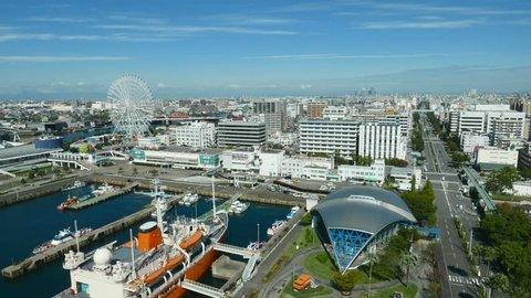 Time lapse of Nagoya city