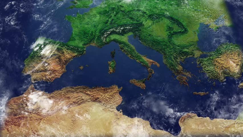 Map Of Italy With Mountains.Map Of Italy Mediterranean Map Stock Footage Video 100 Royalty Free 31157872 Shutterstock