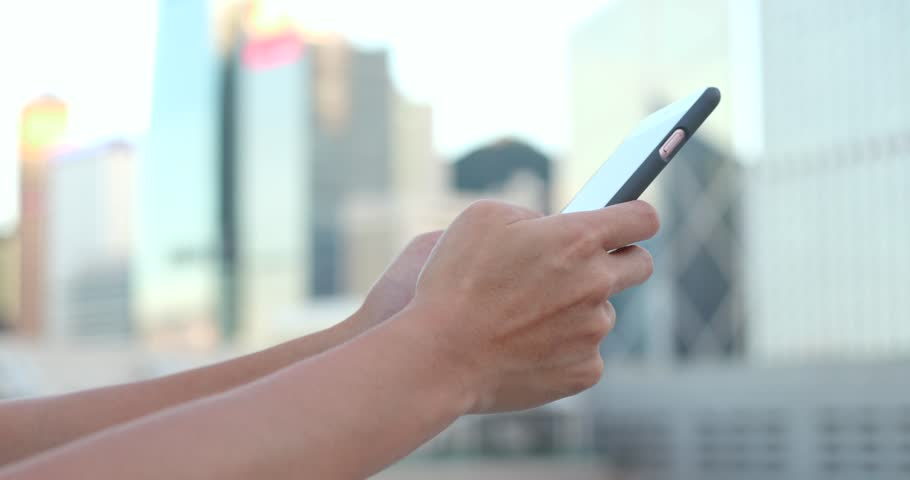 Use of smart phone in Hong Kong  | Shutterstock HD Video #31237231