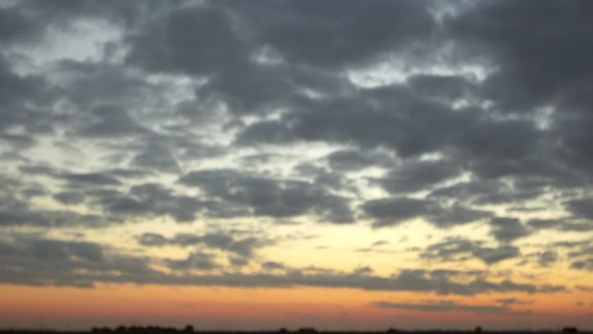 Time Lapse Video Sunrise South Facing Atlantic Beach East Coast
