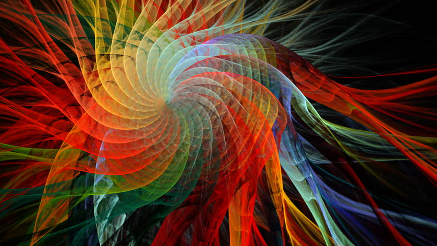 c32e1b1441 Multicolored Flowing Spiral Seamless Loop Stock Footage Video (100 ...