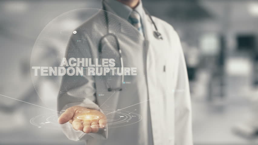 Header of Achilles tendon