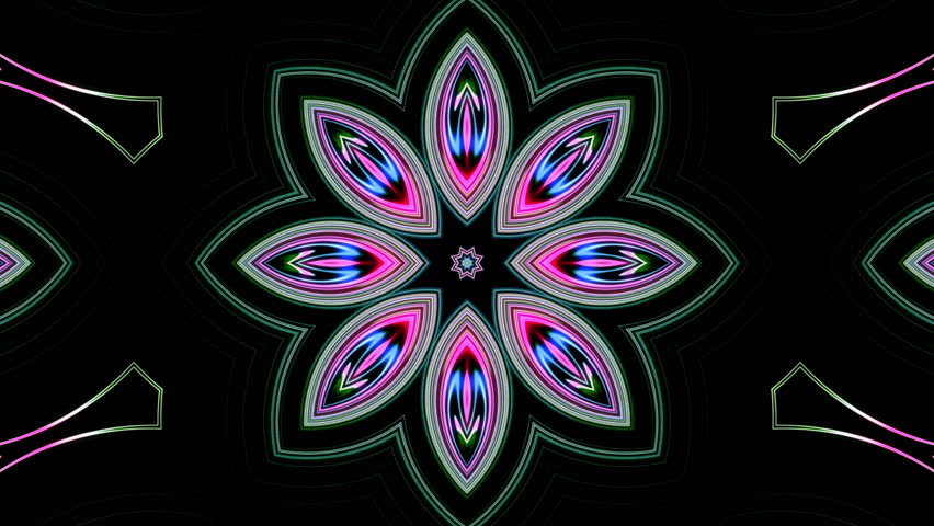 Stylish kaleidoscopic looped background animation can be used in party,fashion, dance,club,music,VJ,corporate,business,devotional and website promotional purposes.Seamlessly loop able and very useful
