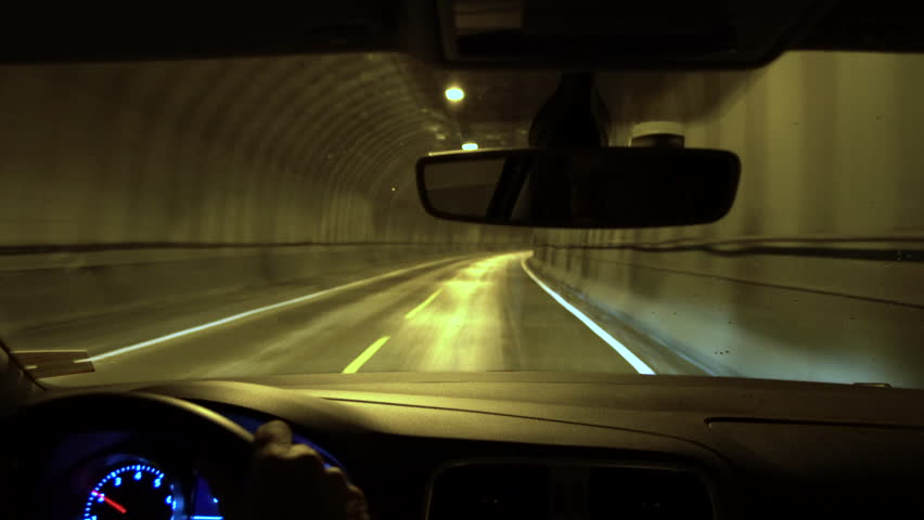 Driving through tunnel, Lofoten Islands, Norway | Shutterstock HD Video #31615675