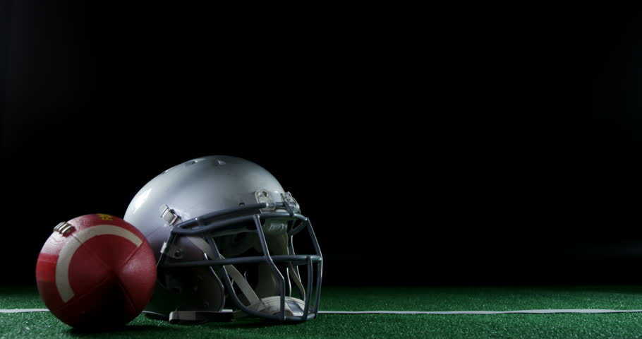 American Football And Head Gear Stock Footage Video 100 Royalty Free 31718482 Shutterstock