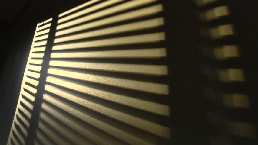 Sun Blinds Shadow