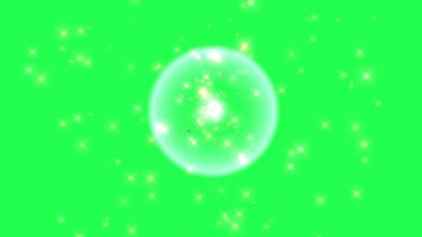 Asteroid belt green screen Footage | Stock Clips