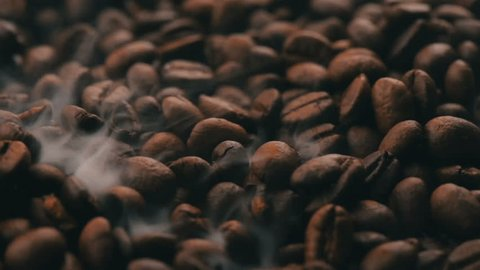 Roasting Coffee Beans Turning