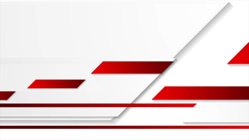 Bright geometric red and grey corporate motion background. Video animation Ultra HD 4K 3840x2160