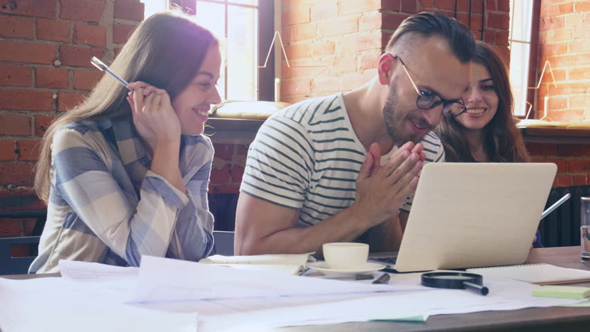 Young people at work   Shutterstock HD Video #32134336