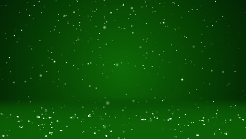 Snow fall and settle on the rotating surface. Green winter background as place for advertisement or logo, Christmas or New Year cards. Seamless looped background with DOF, copy space 2   Shutterstock HD Video #32274802