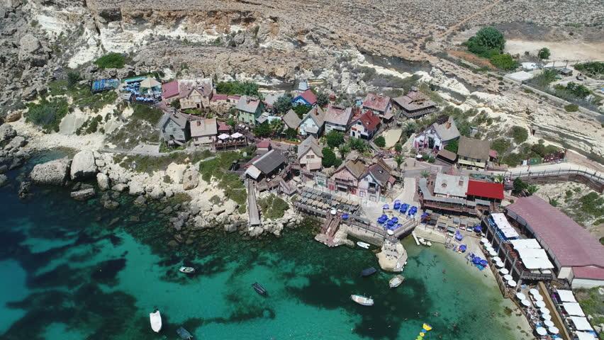 Malta Popeye Village Drone
