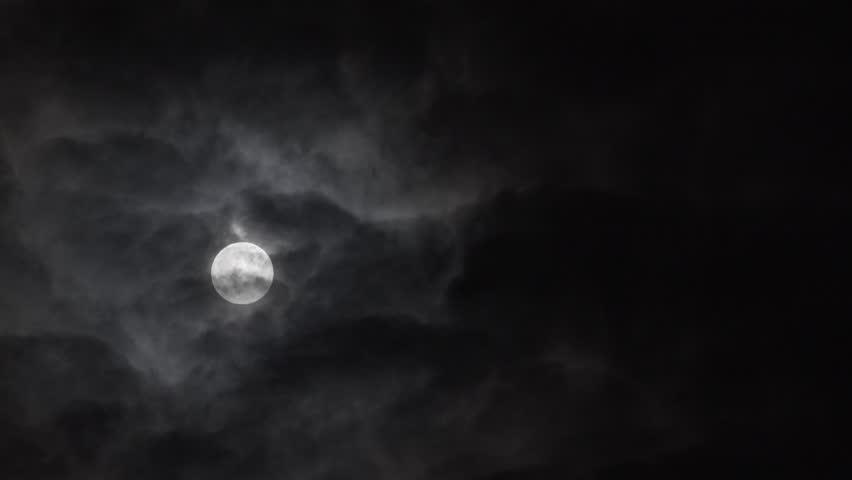 Full Moon.Moonlight time lapse. | Shutterstock HD Video #32370742