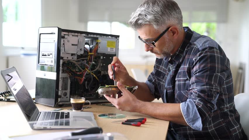 Header of Computer hardware