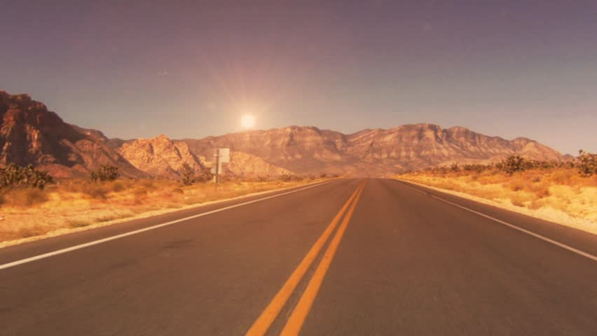 desert road background