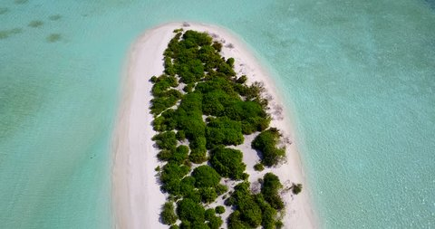 v14429 maldives white sand beach tropical islands with drone aerial flying birds eye view with aqua blue sea water and sunny sky