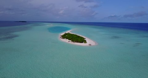 v14519 maldives white sand beach tropical islands with drone aerial flying birds eye view with aqua blue sea water and sunny sky