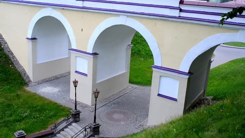 New Castle in Hrodna, Belarus is royal palace of Augustus III of Poland and Stanislaw August Poniatowski where famous Grodno Sejm took place in 1793.