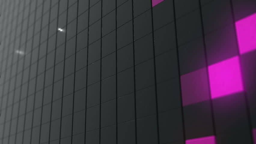 Color background. 3d render. Pixel cube background | Shutterstock HD Video #32652403