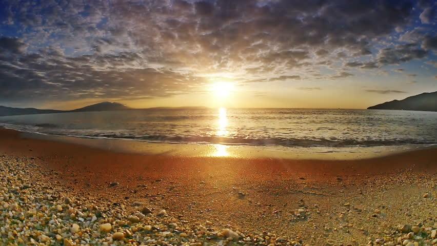 Sunrise wave sea slow motion   Shutterstock HD Video #32655982