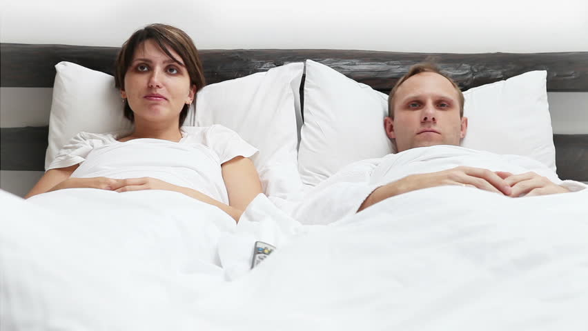 Wife And Husband TV Remote Control Conflict In Bed Stock Footage Video  3272162   Shutterstock. Wife And Husband TV Remote Control Conflict In Bed Stock Footage
