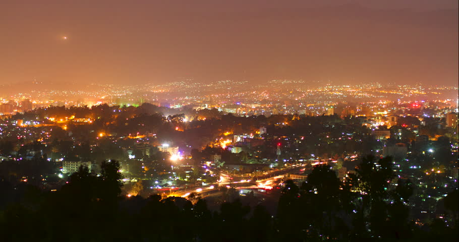 Night Timelapse of Addis Ababa Stock Footage Video (100% Royalty-free)  32753542 | Shutterstock