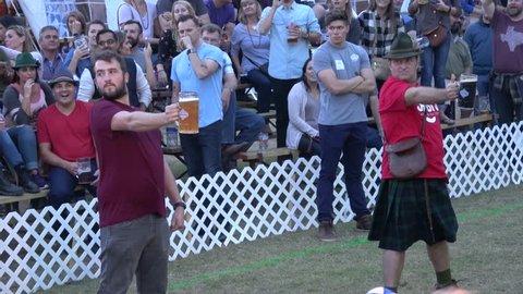 Beer Contest at Tulsa Octoberfest - TULSA / OKLAHOMA - OCTOBER 21, 2017