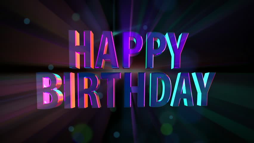 Happy Birthday Stock Footage Video 2846590 Shutterstock