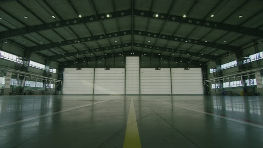 Hangar For Aircraft With Large Stock Footage Video 100 Royalty Free 32904892