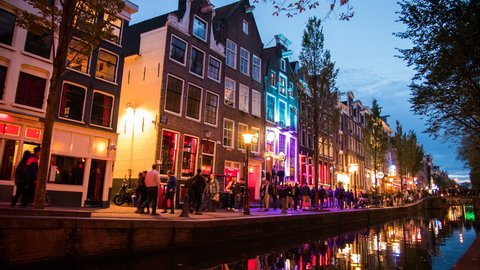 Red Lights District in Amsterdam