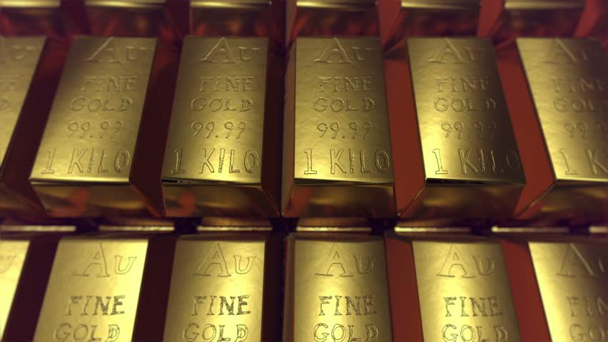 gold bullion, gold bars