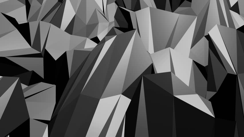 Abstract low poly black background. | Shutterstock HD Video #32926270