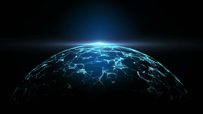 Abstract Global networking, Connection concept. | Shutterstock HD Video #32966992