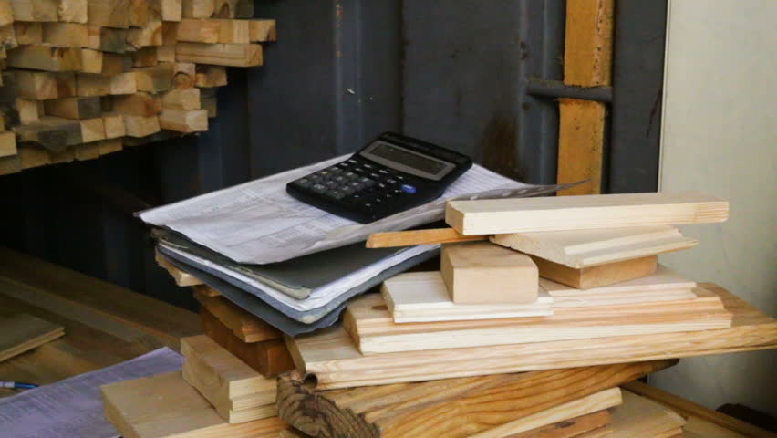 Cutting Boards, Calculator, Folder with Stock Footage Video (100%  Royalty-free) 32977852   Shutterstock